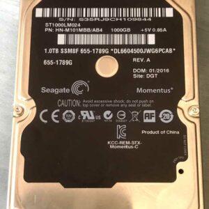 Disque dur Seagate 1TB_ ST1000LM024 HN-M101MBB/AB4 MAC 655-1789G
