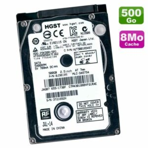 Disque Dur 500Go Hitachi Hts545050a7e362 #655-1730c