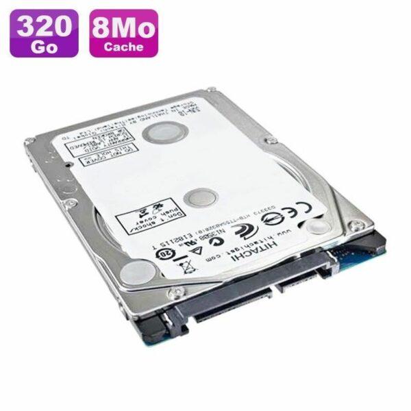 "Disque Dur 320Go SATA 2.5"" Hitachi HTS543232A7A384 5400RPM 8Mo"