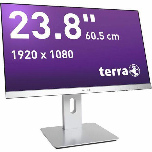ECRAN TERRA LED 2462W PV silber DP/HDMI GREENLINE PLUS