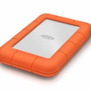 LaCie Rugged 2To, disque dur externe mobile - (1x Thunderbolt, 1X USB-C)